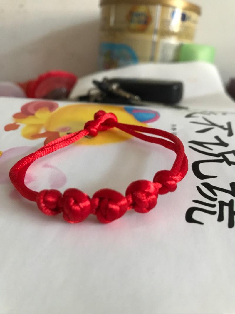 中国结论坛 仿了个红豆结手链  作品展示 132449tr5iykilr3yr3ki6