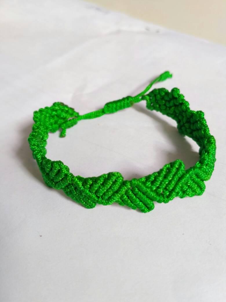 情侣手链编法简单又好看,一心一意情人手链编织教程