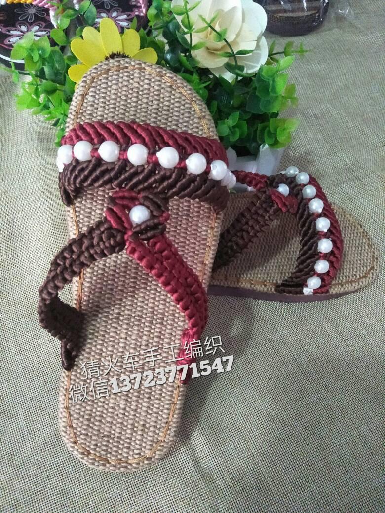 中国结论坛 珍珠双色拖鞋,适合中老年人!  作品展示 120754cz7suyenaaoeq2b8