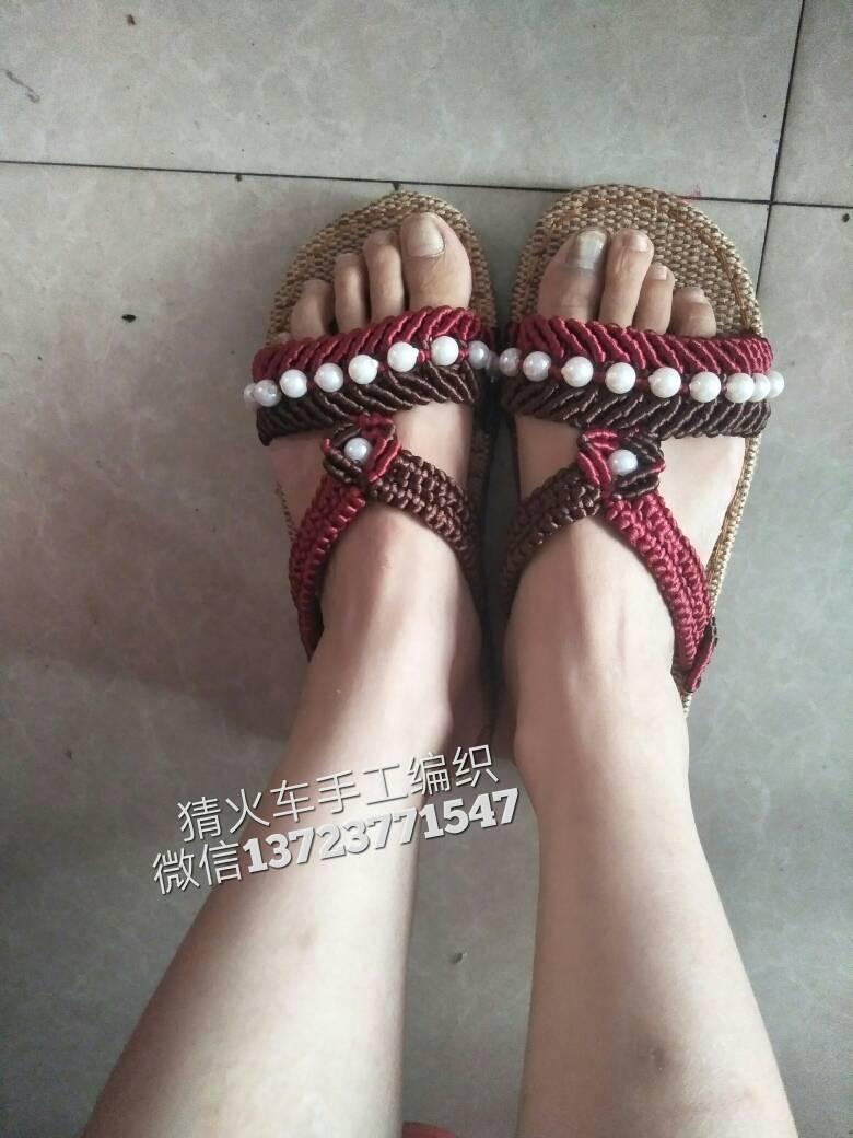 中国结论坛 珍珠双色拖鞋,适合中老年人!  作品展示 120800w158p1h2ppcy9i2y