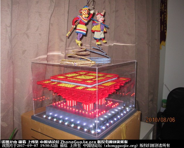 中国结论坛 做中国结已有50年左右,做一个原创的作品集。  作品展示 194748cwq3b37300k8byb7