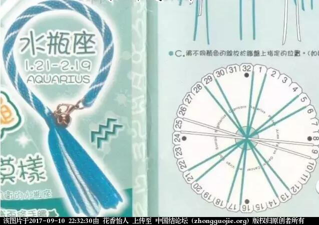 中国结论坛 十二星座幸运手链配线图  图文教程区 223215w2d3ddowgg8z69o9