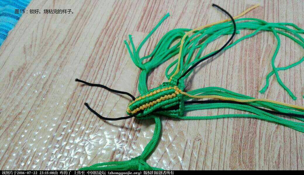 中国结论坛 三道门的小青蛙14  15步的编法  结艺互助区 170013oqlx29m5l295900d