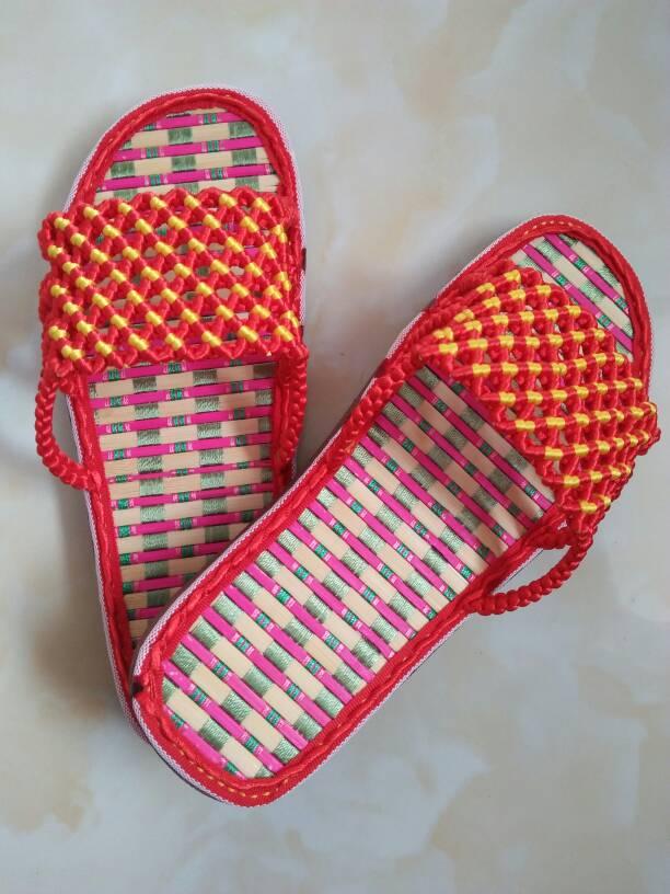 中国结论坛 最近编的拖鞋和帽子  作品展示 164112ycav7am9erk74pkq