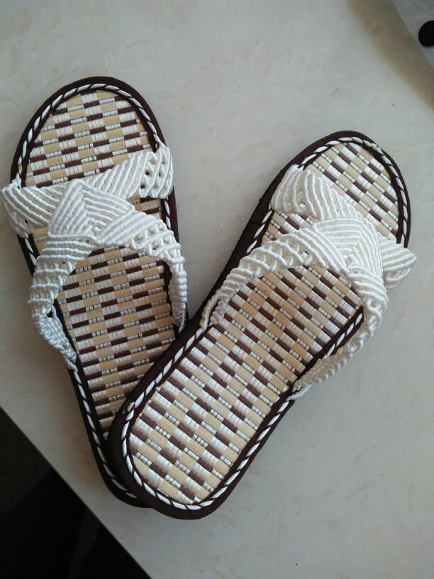 中国结论坛 最近编的拖鞋和帽子  作品展示 164113iml8h996zxm4gzcf