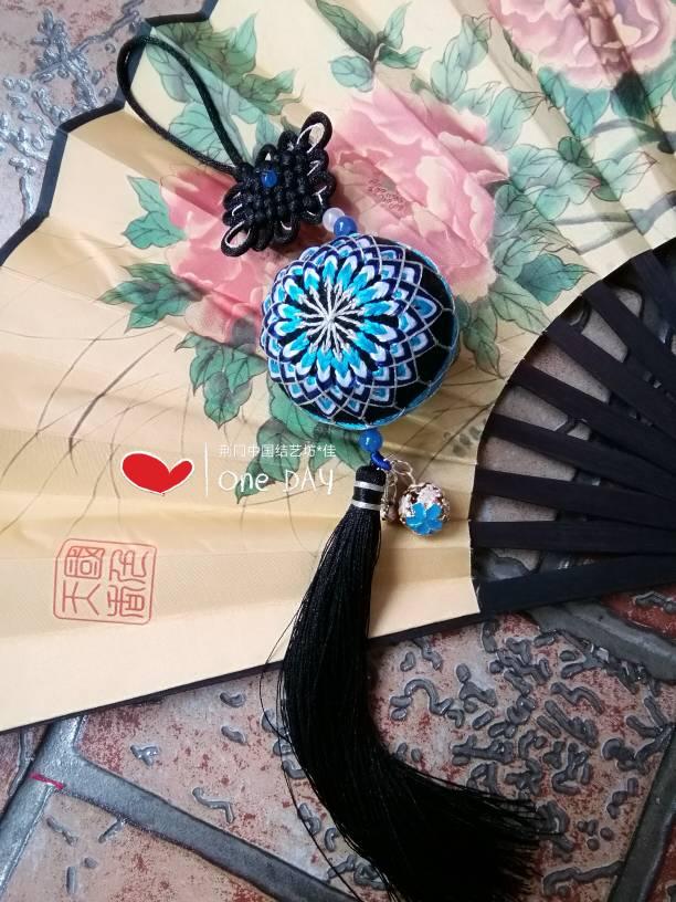 中国结论坛 手鞠球香包车挂学习中  作品展示 180518q5gpq0s2dxxssp2g