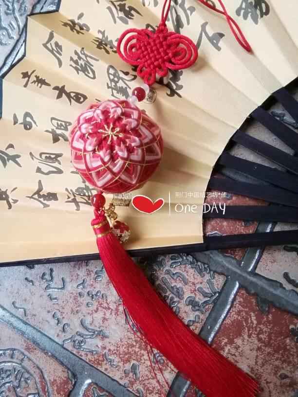 中国结论坛 手鞠球香包车挂学习中  作品展示 180519rdqkexllyu7vvn0h