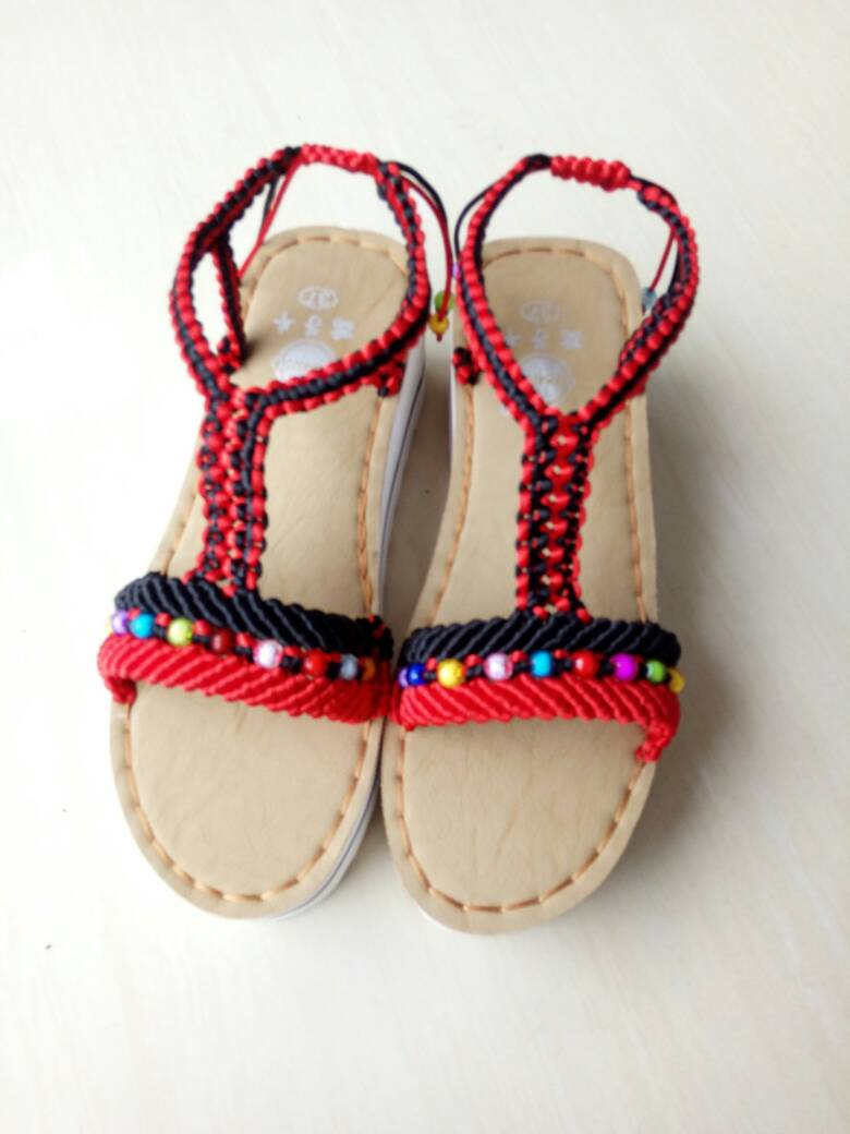 中国结论坛 仿了一双异域风情凉鞋  作品展示 080938xs6s7j7otp74uv4u