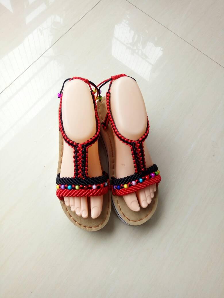 中国结论坛 仿了一双异域风情凉鞋  作品展示 080942fp0rdnndzqhqyide
