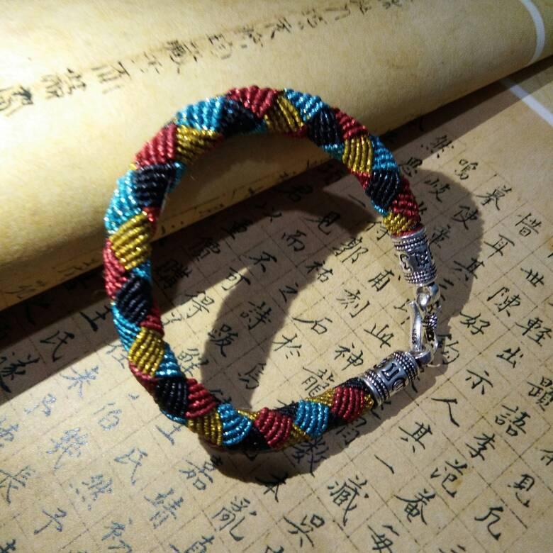 中国结论坛 仿囡绳手作的手绳  作品展示 192613gok9bvk9zkajr4vi