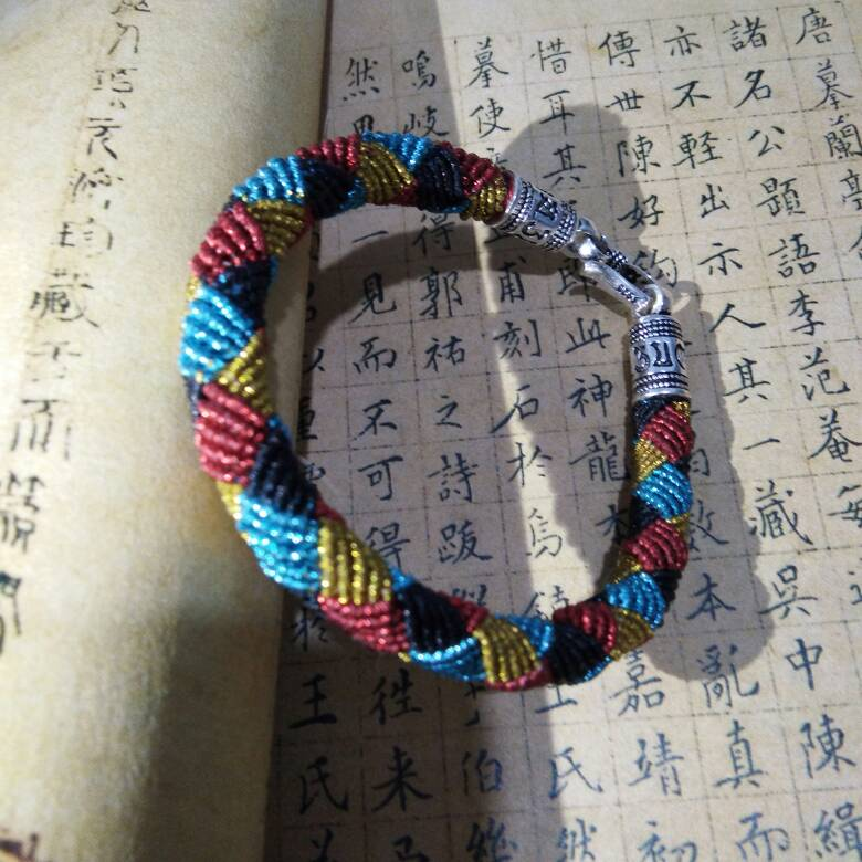 中国结论坛 仿囡绳手作的手绳  作品展示 192614elm00hjnoe6h7srr