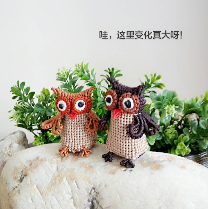 中国结论坛 Hi,我们是猫头鹰  立体绳结教程与交流区 125421b141d0m04ng6bk4i