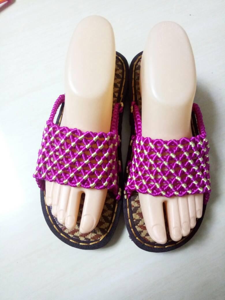 中国结论坛 网格拖鞋  作品展示 184402ecbvfjz4cc4b7z93