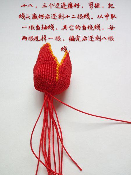 中国结论坛 郁金香花  立体绳结教程与交流区 194224yzrrppo6ok0rp39d