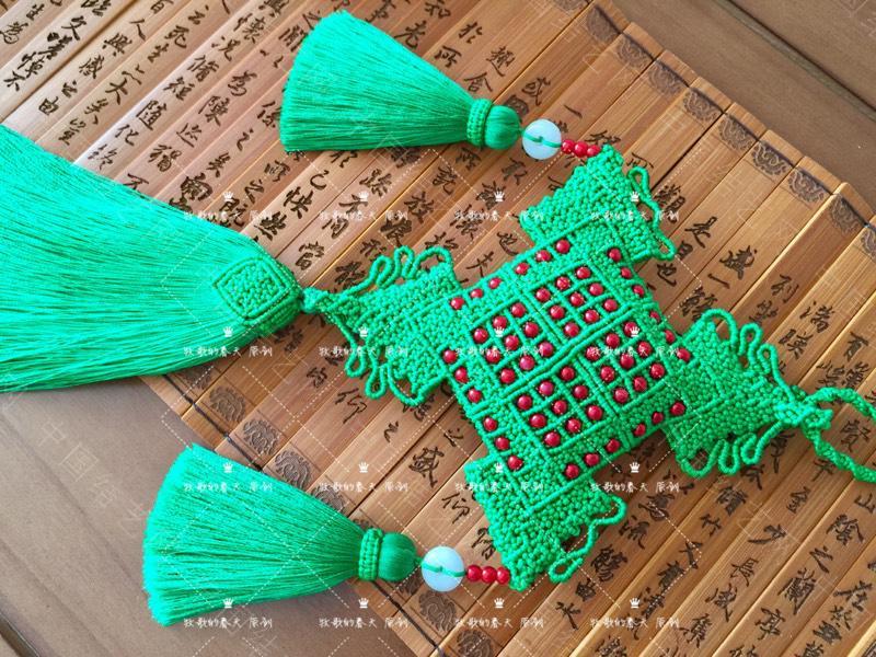 中国结论坛 原创 荷包挂饰~剪翠  作品展示 125450k6h4zalpbzvtjh9s