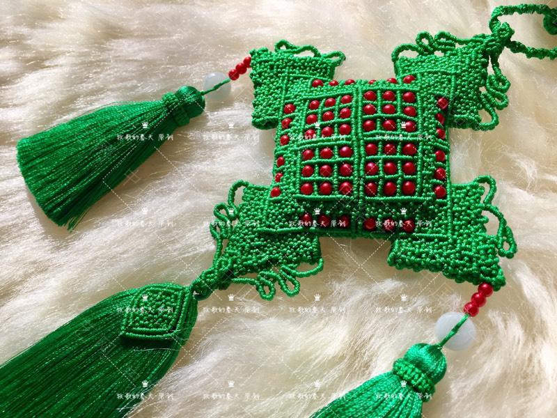 中国结论坛 原创 荷包挂饰~剪翠  作品展示 125450ujej6f66svttfx4e