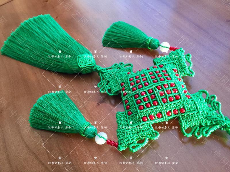 中国结论坛 原创 荷包挂饰~剪翠  作品展示 125451rhzqxghifxrw4rx5
