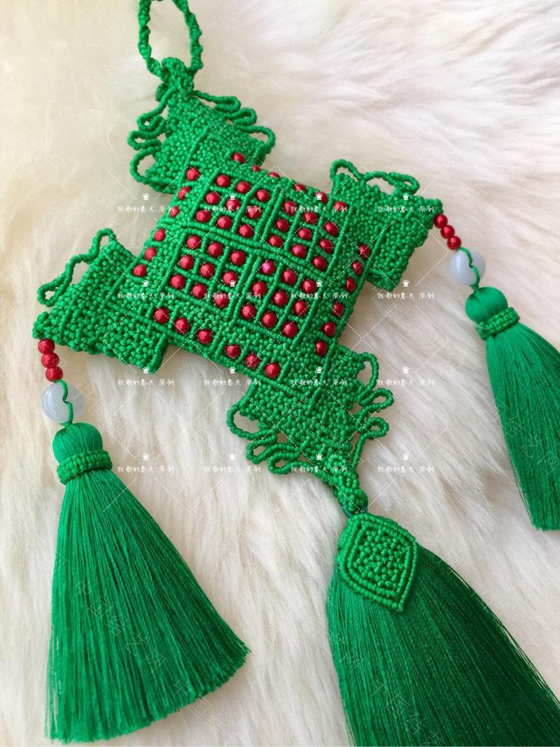中国结论坛 原创 荷包挂饰~剪翠  作品展示 125451tzqafmexddcayono