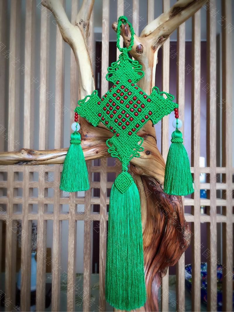 中国结论坛 原创 荷包挂饰~剪翠  作品展示 125452dmhz013ohomqxx0x