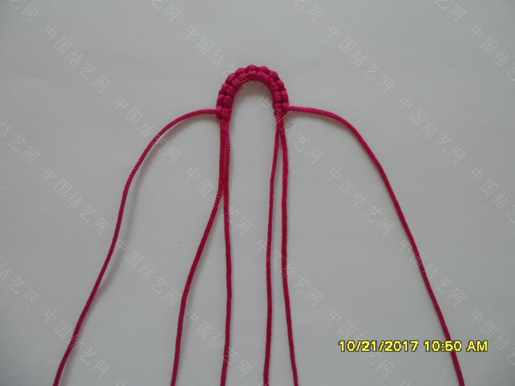 中国结论坛 更新版串珠手绳(3)—— 玫瑰花蕾款  图文教程区 183724xjzw25vzjv5o9253