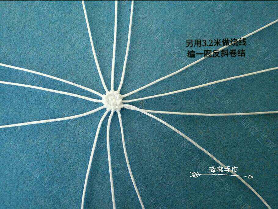 中国结论坛 哆啦A梦教程  立体绳结教程与交流区 074318um593ssb4g94zuz4