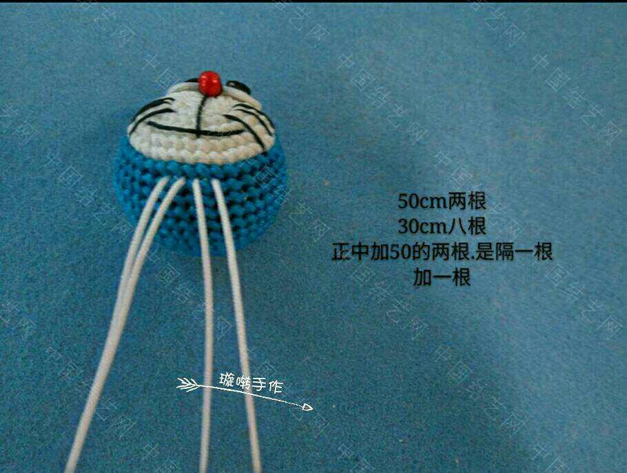 中国结论坛 哆啦A梦教程  立体绳结教程与交流区 074337t39qsop9qe1v1f0p