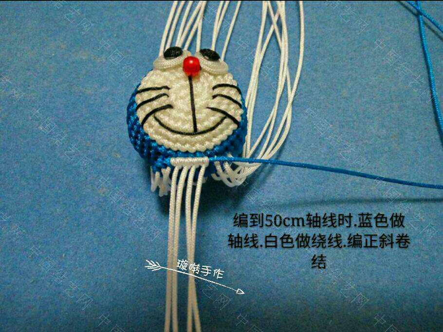 中国结论坛 哆啦A梦教程  立体绳结教程与交流区 074342pjazltzpw558j85b