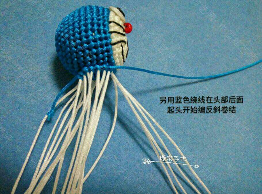中国结论坛 哆啦A梦教程  立体绳结教程与交流区 074342zaqshsgwcpzpwk2c