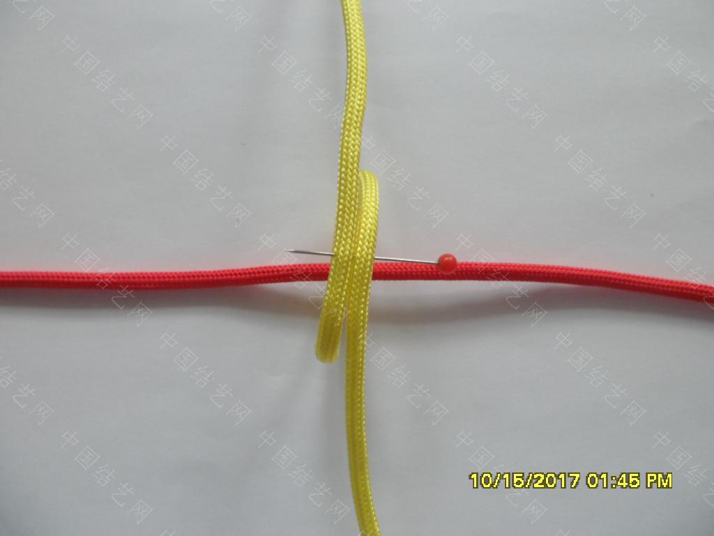 中国结论坛 一款伞绳戒指的编法 —— 吉祥结变奏曲(2) 吉祥结,变奏曲,变奏,吉祥,戒指 图文教程区 122554b8icwi98lsia8ii8