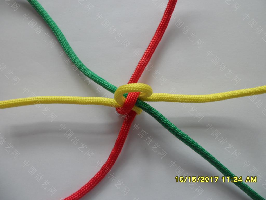 中国结论坛 一款伞绳戒指的编法 —— 吉祥结变奏曲(2) 吉祥结,变奏曲,变奏,吉祥,戒指 图文教程区 123122rz3sn30njinsi3ni