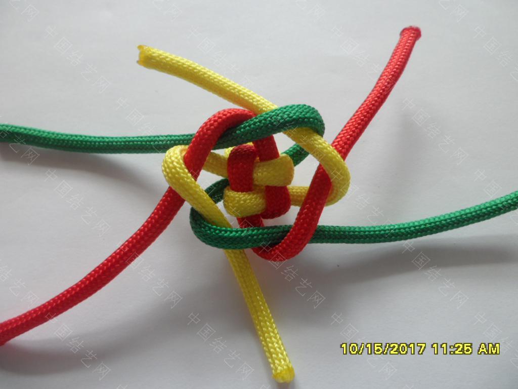 中国结论坛 一款伞绳戒指的编法 —— 吉祥结变奏曲(2) 吉祥结,变奏曲,变奏,吉祥,戒指 图文教程区 123145v0muf29dmmjfmwjr