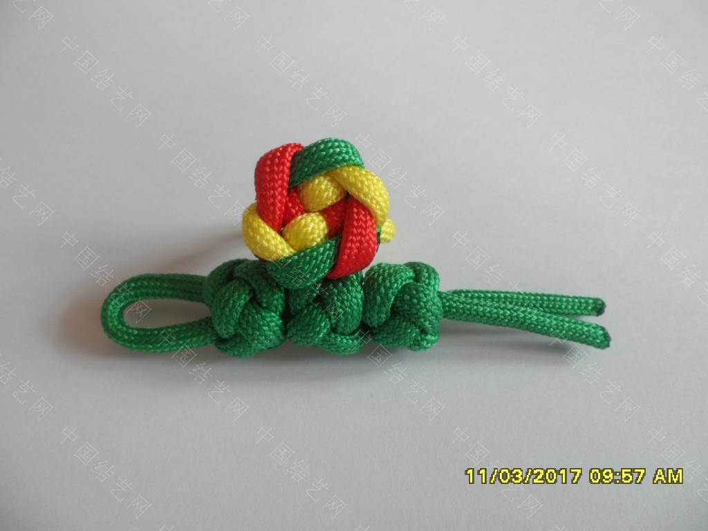 中国结论坛 一款伞绳戒指的编法 —— 吉祥结变奏曲(2) 吉祥结,变奏曲,变奏,吉祥,戒指 图文教程区 123406w2veileil5lg7t7n