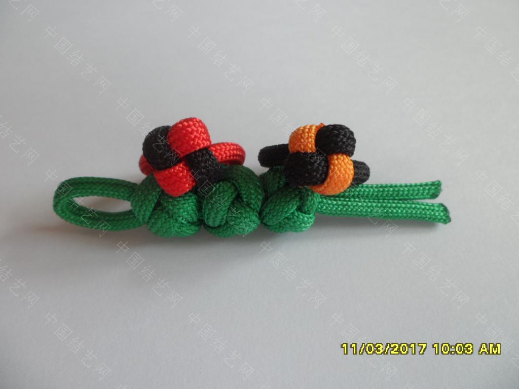 中国结论坛 一款伞绳戒指的编法 —— 吉祥结变奏曲(2) 吉祥结,变奏曲,变奏,吉祥,戒指 图文教程区 123438z39zl8ij3gfl39w4