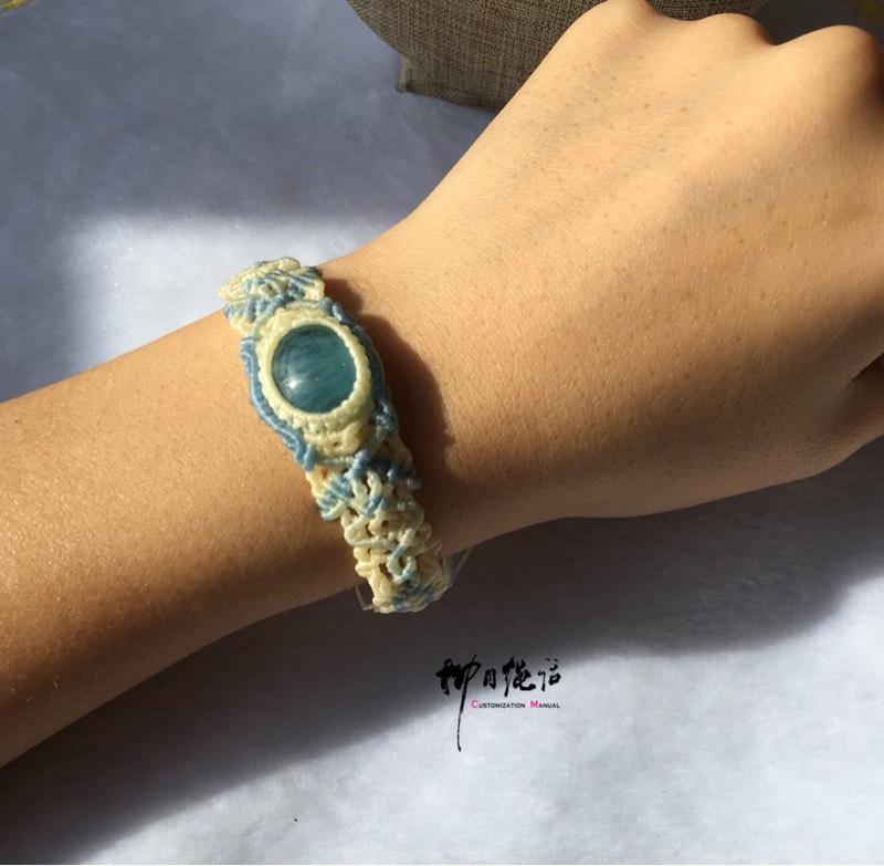 中国结论坛 海蓝宝手环  作品展示 133110y9x9ry528zzu18lc