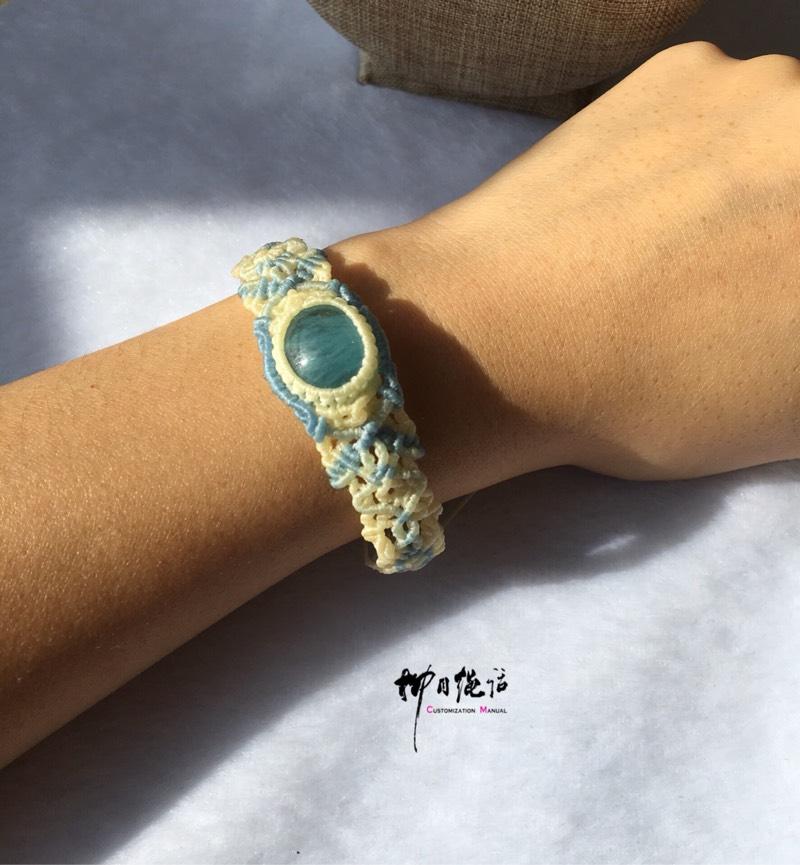 中国结论坛 海蓝宝手环  作品展示 133111yns3dldydnql4d94