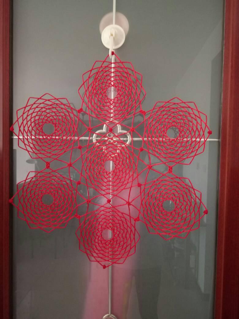 中国结论坛 自做的花箍结作品。  作品展示 145754cqj2zwyxsrmhwrff
