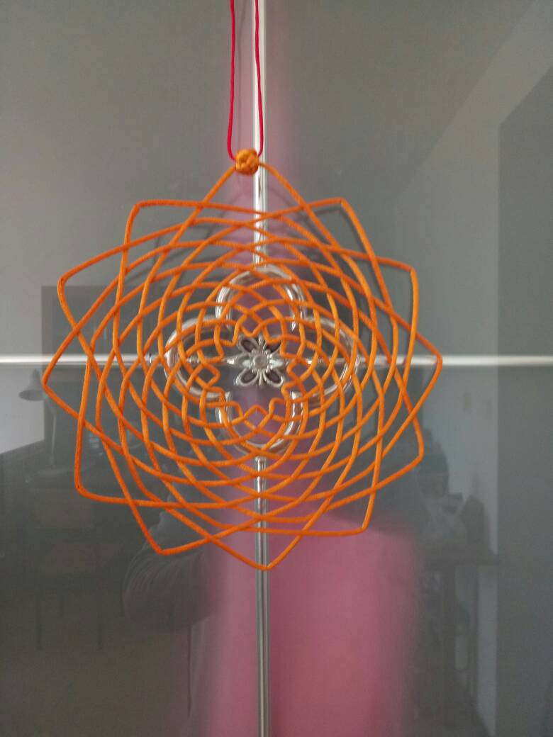 中国结论坛 自做的花箍结作品。  作品展示 145754f6mhy6plm6p0l50u