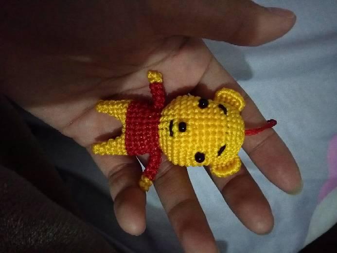 中国结论坛 仿编旋啭老师的第一个维尼熊,有待改善!  作品展示 001554uj8ggbbmcbwb5stb
