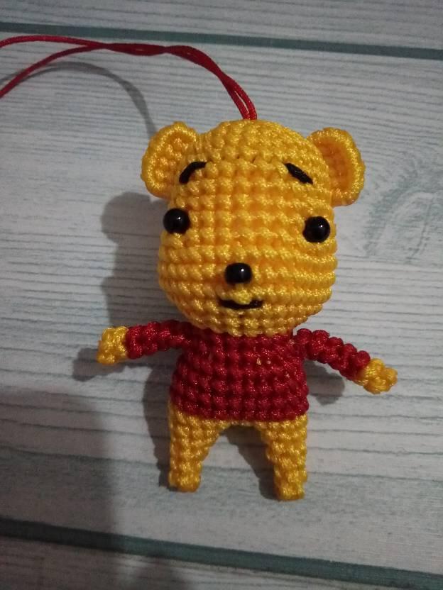 中国结论坛 仿编旋啭老师的第一个维尼熊,有待改善!  作品展示 001556sb3v6bk3t6zv4y6b