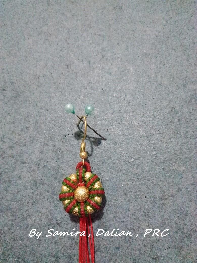 中国结论坛 平结圣诞耳饰  图文教程区 191154u69z31ix1zbi0x15