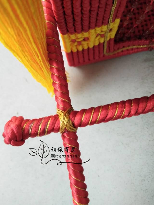中国结论坛 仿轿子 这是一个为造福后面喜欢轿子的坛友的伪教程  立体绳结教程与交流区 170025h6ssj61zrj0l0h2j