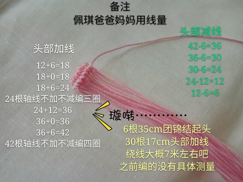 中国结论坛 小猪佩琪教程  立体绳结教程与交流区 110659zmhz9jndoj9z9t9n