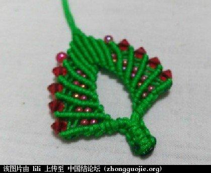 中国结论坛 圣诞树水晶绕线斜卷结编织方法-- 绳结教程 视频教程  视频教程区 110805p7rkmlkbx2ak3kl7