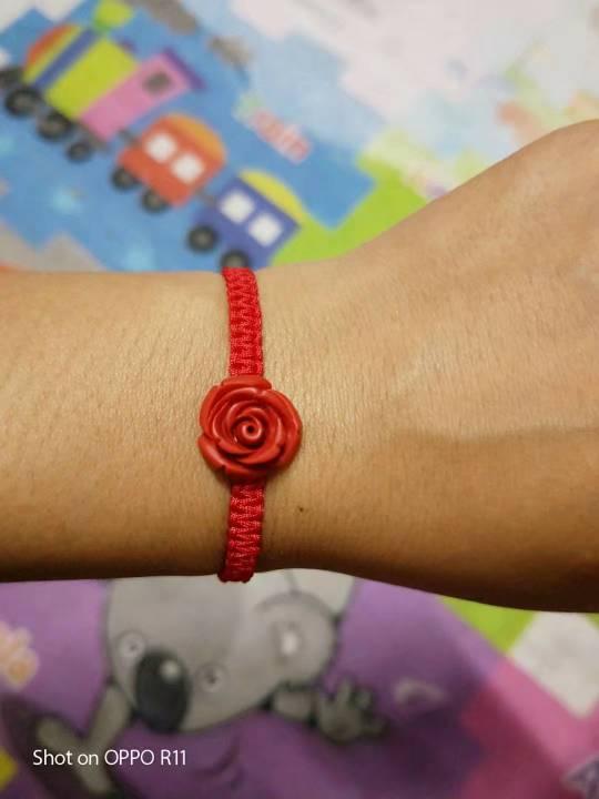中国结论坛 朱砂玫瑰手链  作品展示