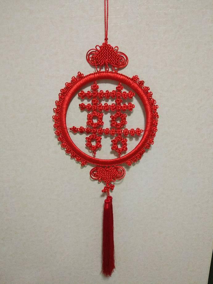 中国结论坛 冰花喜字  作品展示 084012am66tmy2c995itmz
