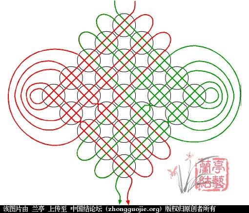 中国结论坛 冰花福字(附圆形字板做法)  兰亭结艺 150829s8xk4it3fz0yanux