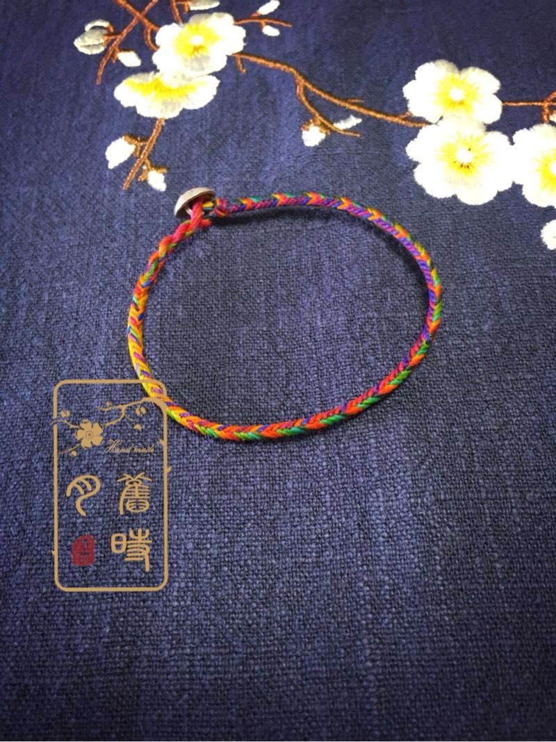中国结论坛 五彩夹心12股手绳  作品展示 200200h3koorssoclkonfo