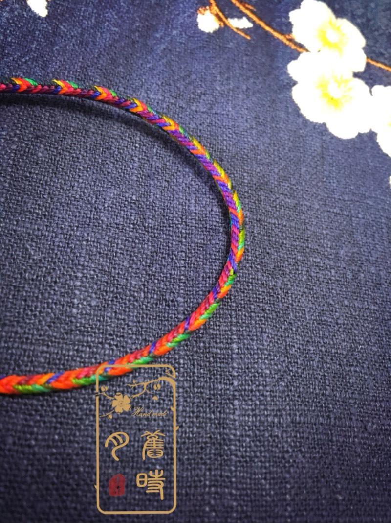 中国结论坛 五彩夹心12股手绳  作品展示 200201obusasrx59slcxr4