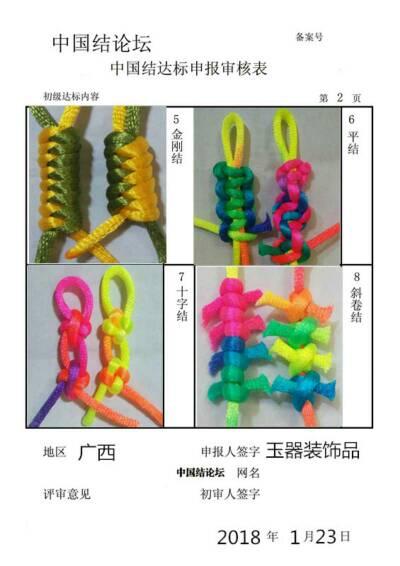中国结论坛 玉器装饰品——初级达标申请稿件  中国绳结艺术分级达标审核 220603lj1pdwzwodmb99pp