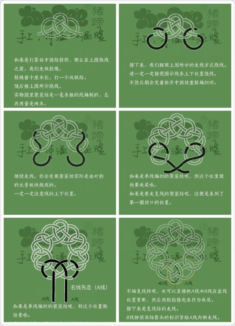 中国结论坛 绕线袈裟结  作品展示 000758d1dvixsxwurqxqxq